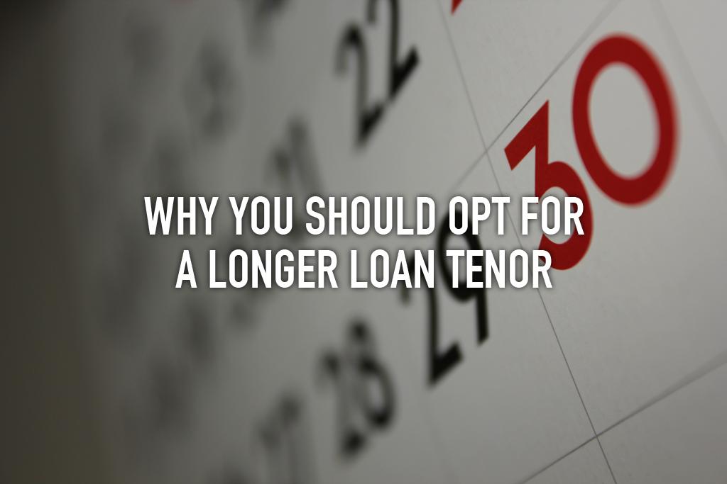 Longer Loan Tenor