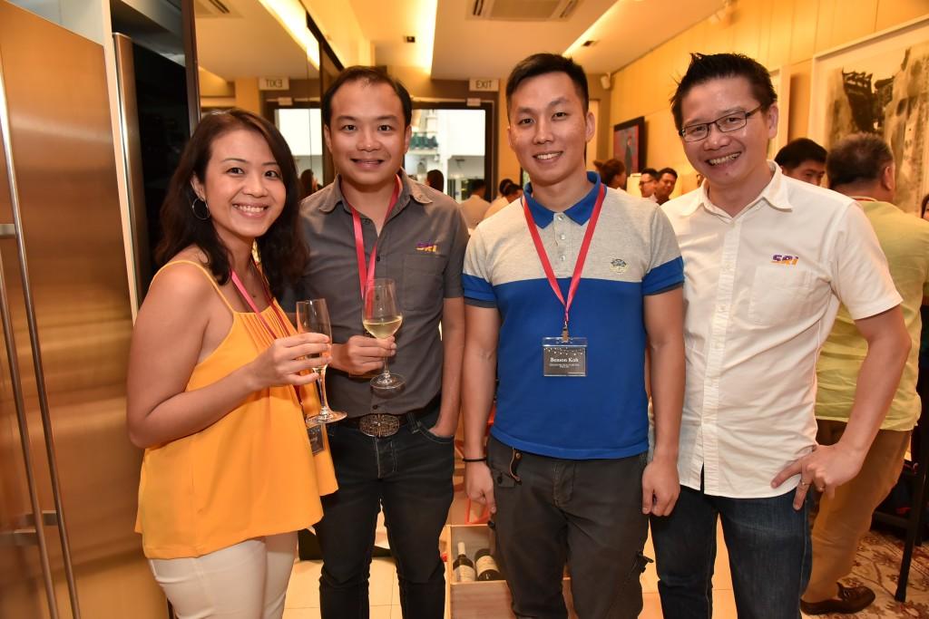 (L-R): Pam Chuang (Director, Business Development, GoBear), Bruce Lye (Managing Partner, SRI), Benson Koh (Managing Partner, SRI), Tony Koe (Managing Director, SRI)